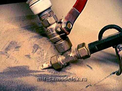 Сделать пескоструйный аппарат своими руками фото