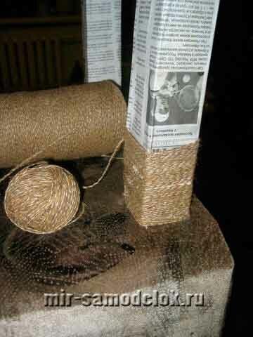 Сборка кошкиного дома